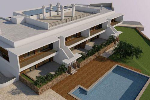 Plot With Project For Sale – Santa Barbara de Nexe