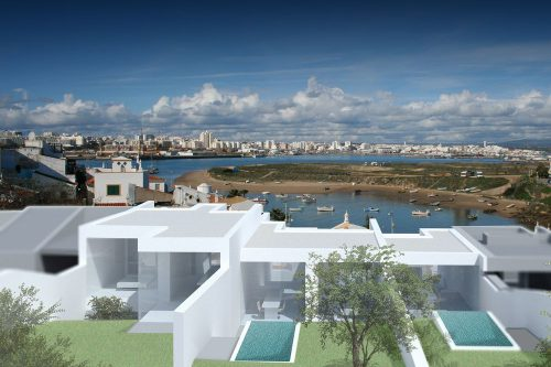 Plot With Project For Sale – Ferragudo