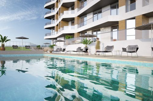 2 Bed Apartments For Sale – Quarteira